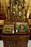 Dmitrov Ryssland - mars 10 2018 kloster för böniconsinBorisoglebsky man Arkivbilder