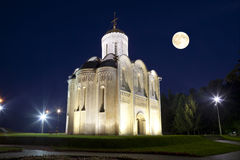 Dmitrovsky Cathedral in Vladimir. Russia Stock Images