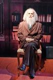 dmitry活mendeleev雕象 免版税库存照片