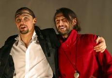 Dmitry Bozin and Igor Selin royalty free stock photo