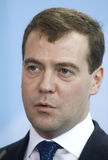 Dmitry Medvedev Stock Photography