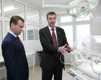 Dmitry Medvedev Royalty Free Stock Photo