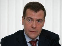 Dmitry Medvedev Royalty Free Stock Photos