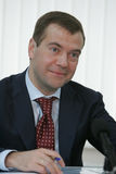 dmitry medvedev Royaltyfria Foton