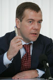 dmitry medvedev Royaltyfria Bilder