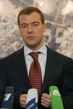 Dmitry Medvedev Royalty Free Stock Image