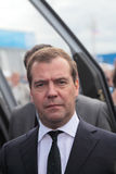 Dmitry Medvedev Stock Image
