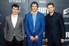Dmitry Orlov, Alex Ovechkin, Evgeny Kuznetsov Stock Image
