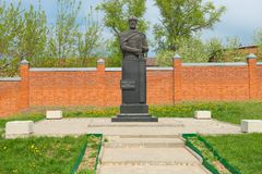 Dmitry Pozharsky Monument Stock Photos