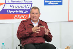 Dmitry Rogozin Stock Fotografie