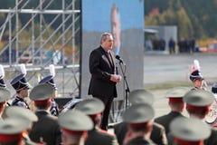 Dmitry Rogozin Imagen de archivo libre de regalías