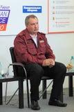 Dmitry Rogozin. NIZHNY TAGIL, RUSSIA- AUG 24: Dmitry Rogozin is Ambassador Extraordinary and Plenipotentiary of Russia, vice-premier of Russian Government at Stock Image