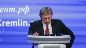 Dmitry Sergeyevich Peskov απόθεμα βίντεο