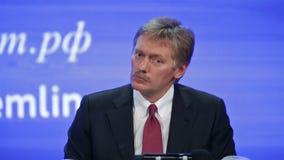 Dmitry Sergeyevich Peskov stock video footage