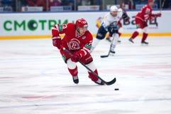 Dmitry Shitikov (23) dribling Zdjęcie Stock