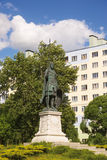 Dmitry Solunsky Monument auf dem Quadrat am S-Bahn-Notfall Stockfoto