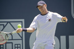 Dmitry Tursunov at L.A. Open Royalty Free Stock Photo