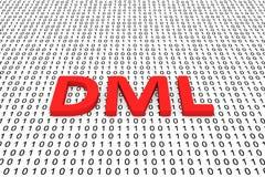 DML illustration de vecteur