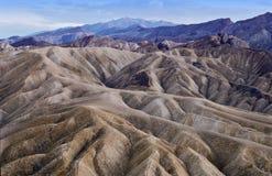 Dämmerung in Death Valley Stockfotografie