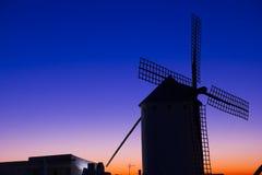 Dämmerung in der Olivenölseife, Spanien Lizenzfreie Stockfotos