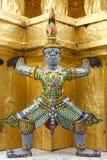 Dämon schützt Skulptur Stockfotografie