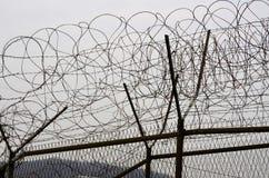 DMZ fences Stock Image