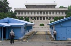 dmz jsa韩国 库存照片