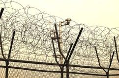 DMZ ogrodzenia obrazy royalty free