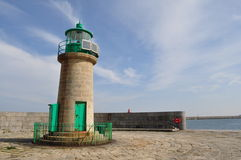 Dún Laoghaire lighthouse Royalty Free Stock Photography