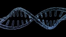 DNA łańcuch naukowy abstrakcjonistyczny tło świadczenia 3 d ilustracji