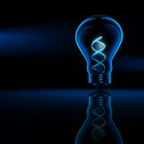 DNA βιοτεχνολογίας Στοκ φωτογραφίες με δικαίωμα ελεύθερης χρήσης