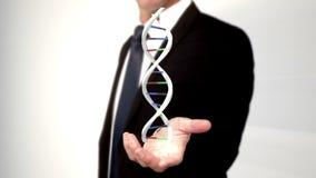 DNA εκμετάλλευσης ατόμων με το χέρι του φιλμ μικρού μήκους
