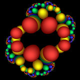 DNA φαντασιόπληκτο Στοκ Εικόνες