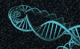 DNA - 2 Lizenzfreie Stockfotografie