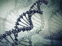 Dna. Digital illustration of a dna Royalty Free Stock Image