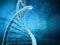 Dna. Digital illustration of a dna Royalty Free Stock Photography