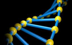 DNA. Render of gene,3d illustration Royalty Free Illustration