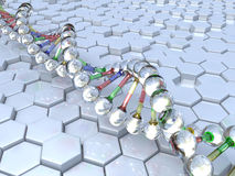 DNA Lizenzfreies Stockbild
