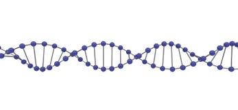 DNA 3d Fotografía de archivo