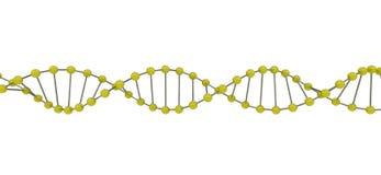 DNA 3d Foto de archivo libre de regalías