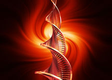 DNA abstract Royalty Free Stock Images
