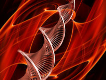 DNA abstract Stock Image
