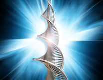 DNA abstract Royalty Free Stock Photography