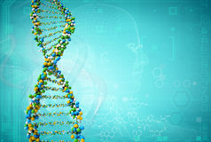 Dna Royalty Free Stock Images