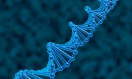 DNA abstrakta tło Obrazy Stock