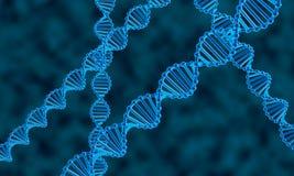 DNA abstrakta tło Zdjęcie Royalty Free