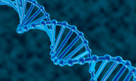 DNA abstrakta tło Obraz Royalty Free