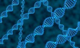 DNA abstrakta tło Zdjęcie Stock