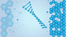 DNA, acido desossiribonucleico, scienza, video stock footage