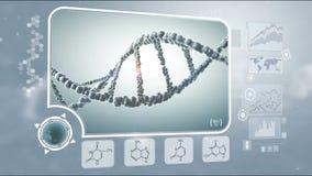 DNA-analyse royalty-vrije illustratie